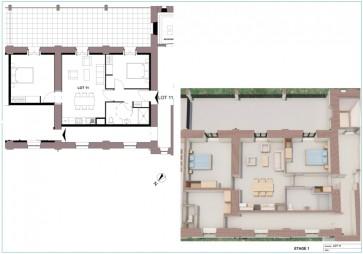 Appartement à Dole - T3 - 68m2
