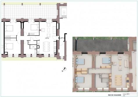 Appartement à Dole - T5 - 95m2